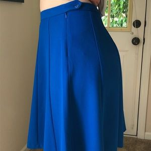 The Limited Skirts - Bright blue statement skirt